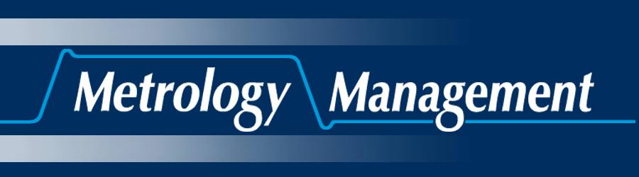 Click to return to the Metrology Management Homepage